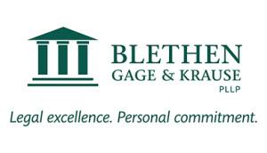 The Blethen logo